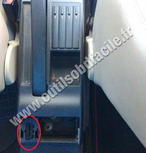 Prise Obd2 Dans Les Audi A4 B5 1994 2001 Outils