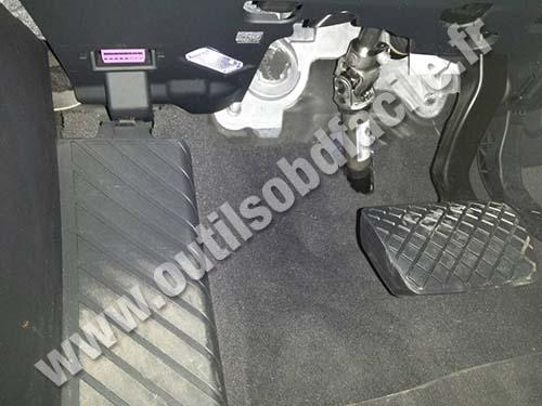 Prise Obd2 Dans Les Audi A4 B8 2008 2015 Outils