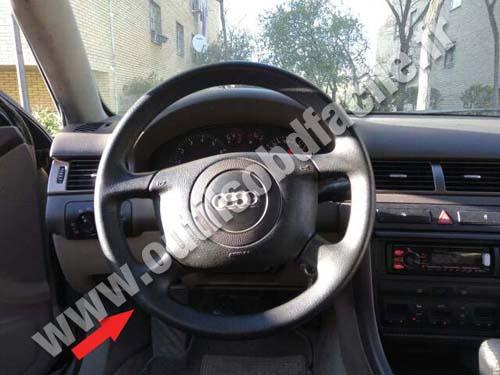 Prise Obd2 Dans Les Audi A6 C5 1997 2004 Outils