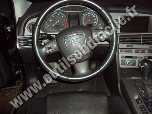 prise obd2 dans les audi a6 c6 2004 2010 outils obd facile. Black Bedroom Furniture Sets. Home Design Ideas
