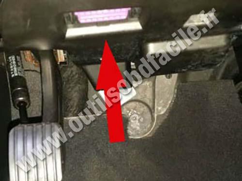 Prise OBD2 dans les Audi Q7 (4L) (2006 - 2015) - Outils OBD Facile