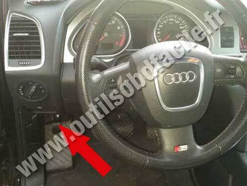 Prise Obd2 Dans Les Audi Q7 4l 2006 2015 Outils