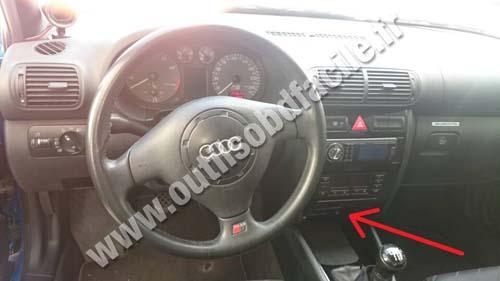 Prise Obd2 Dans Les Audi S3 8l 1999 2003 Outils