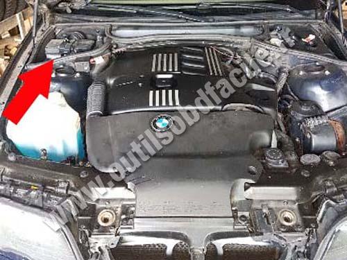 Prise OBD2 pour les BMW Serie 3 E46 (1998 - 2004)