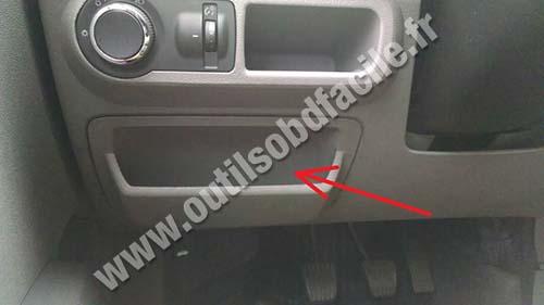 Prise Obd2 Dans Les Chevrolet Agile 2009 Outils Obd
