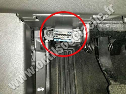 Prise Obd2 Dans Les Chevrolet Malibu 2013 2015