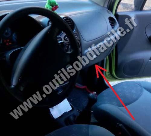 Chevrolet Matiz Tableau Bord Volant