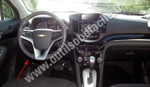 2004 Chevrolet Trailblazer >> Prise OBD2 dans les Chevrolet Orlando (2010 - ...) - Outils OBD Facile