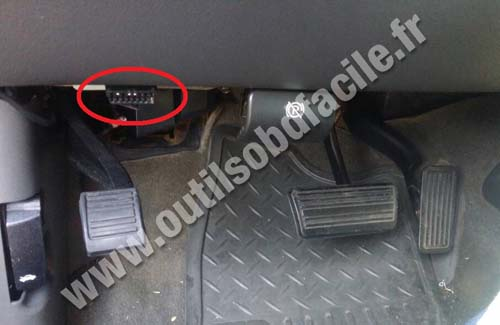 kia optima obd ii port location  kia  get free image about