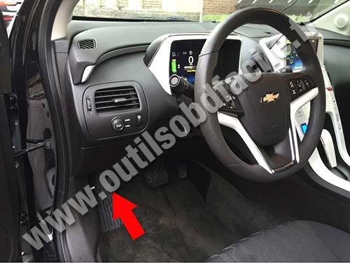 Prise OBD2 dans les Chevrolet Volt (2010 - 2015) - Outils ...