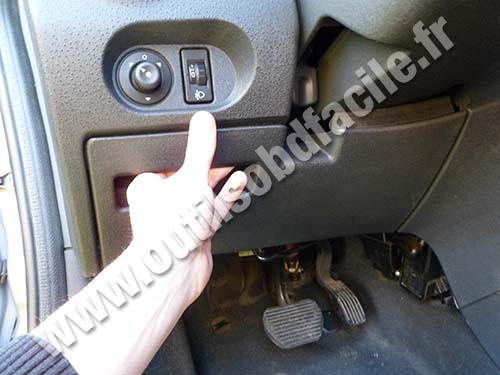 Citroen C2 accoudoir