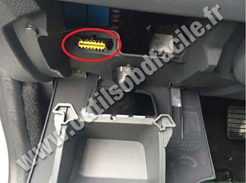 Prise Obd2 Dans Les Dacia Dokker 2012 Outils Obd