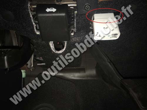 Dodge Charger 6 Prise OBD