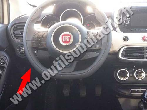 fiat 500 prise diagnostique the fiat car. Black Bedroom Furniture Sets. Home Design Ideas