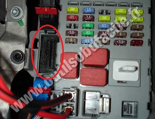 fiat punto fuse box layout vauxhall zafira fuse box layout