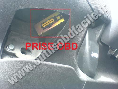 Prise Obd2 Dans Les Fiat Multipla 1998 2010 Outils