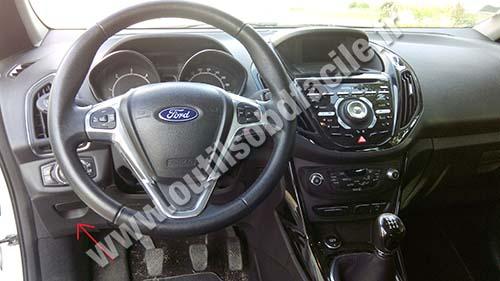 Prise Obd2 Dans Les Ford B Max 2012 Outils Obd