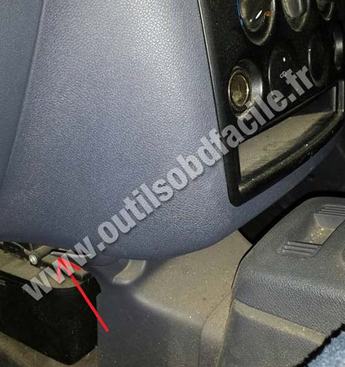 Ford Connect console centrale