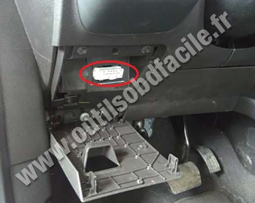 Ford Escape prise OBD