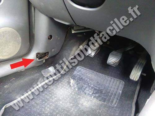 Ford Fiesta IV - Porte conducteur