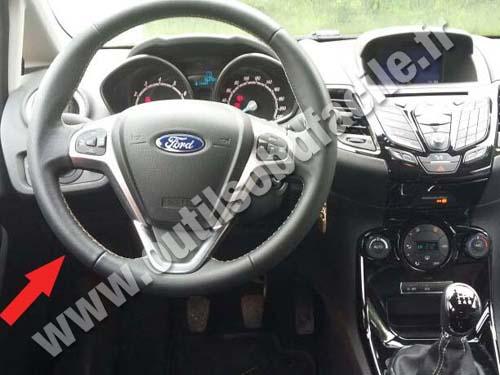 Prise Obd2 Dans Les Ford Fiesta 2012 2017 Outils Obd