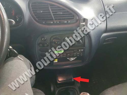 Ford Galaxy - Console centrale