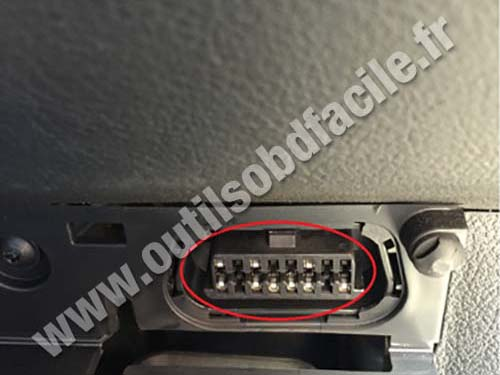 Ford Galaxy prise OBD II