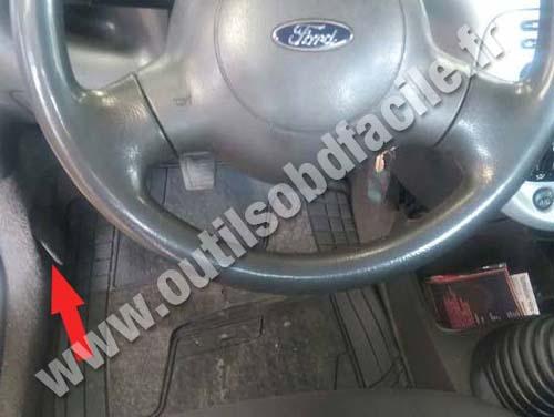 Prise Obd2 Dans Les Ford Ka 1996 2008 Outils Obd Facile