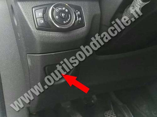 Ford Tourneo Courier - Vide poche