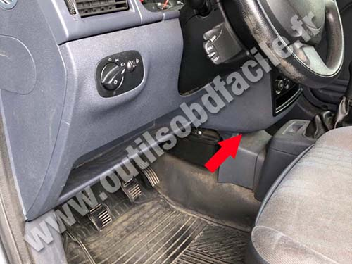 Ford Transit Connect - Console centrale