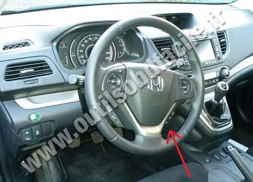 Prise Obd2 Dans Les Honda Cr V 2011 Outils Obd Facile