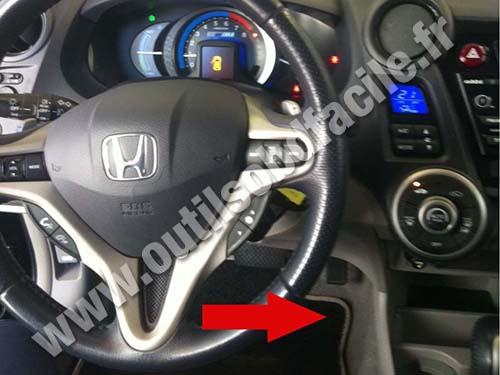 honda-inisght-tableau-de-bord Honda Cr Z Wiring Diagram on