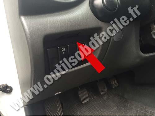 Prise Obd2 Dans Les Hyundai Accent 2000 2005 Outils