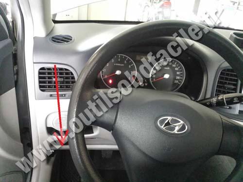 Prise Obd2 Dans Les Hyundai Accent 2006 2011 Outils