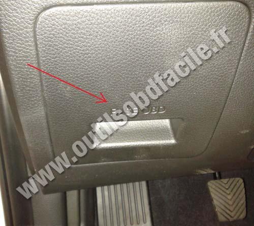 Prise Obd2 Dans Les Hyundai I30 2012 Outils Obd Facile