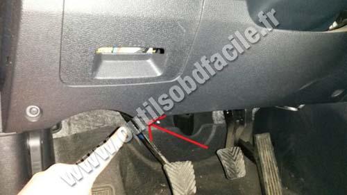 Prise Obd2 Dans Les Hyundai Ix35 2010 2014 Outils
