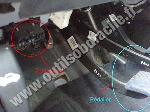 Prise Obd2 Dans Les Hyundai Matrix 2001 2010 Outils