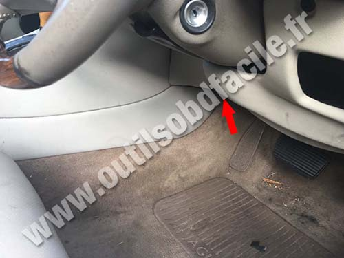 Jaguar XJ (X300) - Côté conducteur