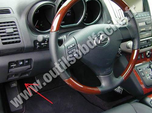 Lexus Rx Tableau Bord Habitacle