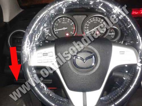 Prise Obd2 Dans Les Mazda Mazda 6 2007 2012 Outils