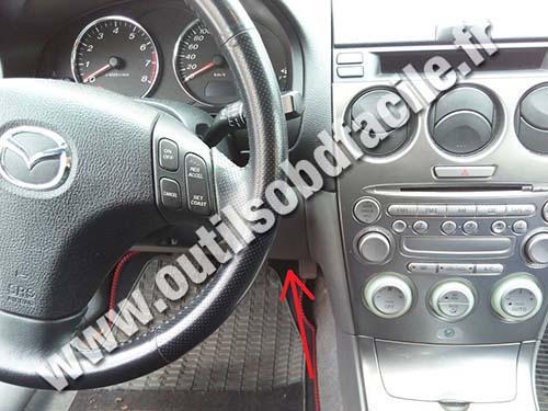 Prise Obd2 Dans Les Mazda 626 1997 2002 Outils Obd Facile