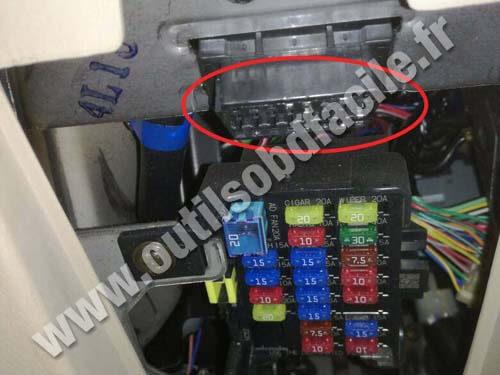 1991 miata wiring diagram prise obd2 dans les mazda mx 5 nb  1998 2005  outils  prise obd2 dans les mazda mx 5 nb  1998 2005  outils