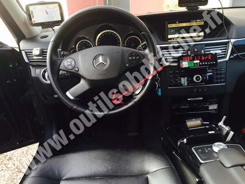 Prise OBD2 dans les Mercedes E Class - W212 (2009 - 2016 ...