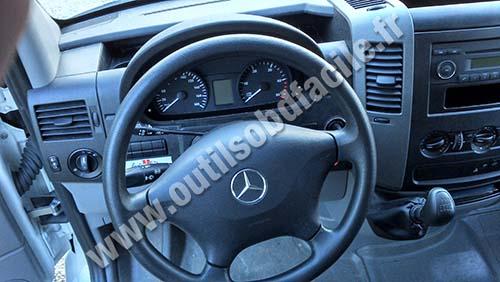 Prise Obd2 Mercedes Sprinter 906 2006 2018 Trouvez Votre Connecteur