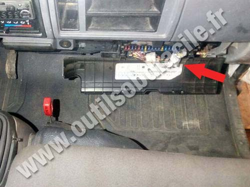 Prise Obd2 Dans Les Nissan Cabstar Outils Obd Facile