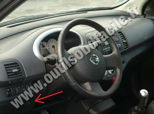 nissan-micra-tableau-bord-habitacle-volant Nissan Quest Interior Fuse Box on