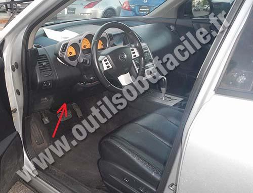 Prise OBD2 dans les Nissan Murano (2009 - 2013) - Outils ...