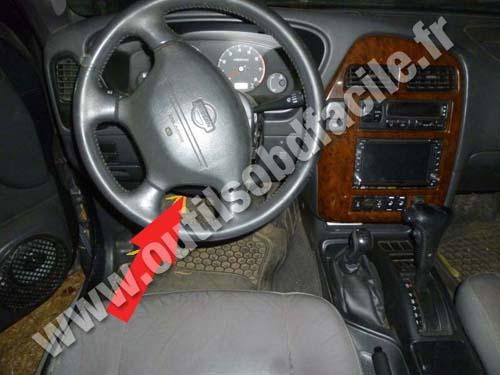 Prise Obd2 Dans Les Nissan Pathfinder 1996 2004