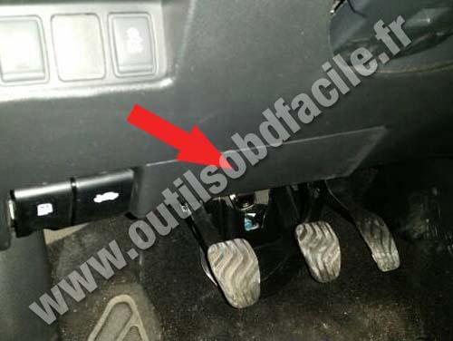 Prise Obd2 Dans Les Nissan Qashqai 2014 Outils