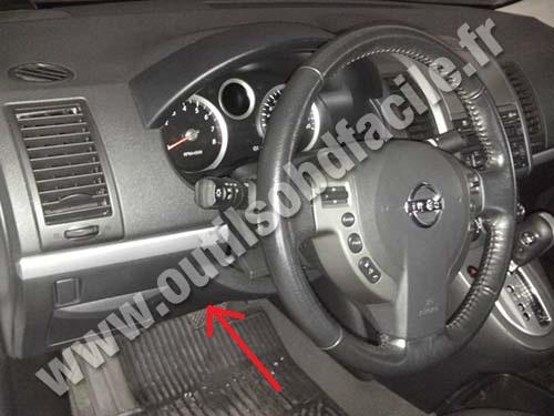 Prise OBD2 dans les Nissan Sentra (2007 - 2012) - Outils ...